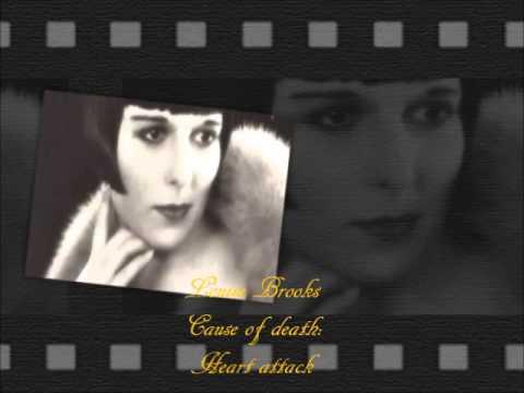 The deaths of  silent cinema stars