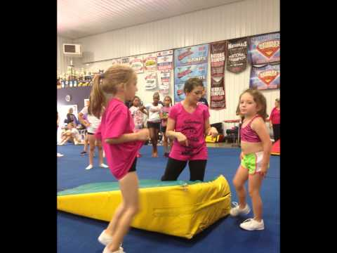 Lili Smith National American Miss Ohio Jr Preteen 2013 Hosts Cheer For A Cure video
