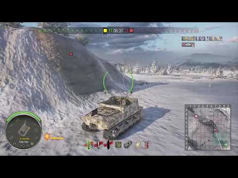 World of Tanks Xbox one Sexton I 4 Kills