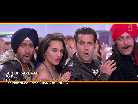 Son Of Sardaar Po Po Full Video Song | Salman Khan, Ajay Devgn & Sanjay Dutt