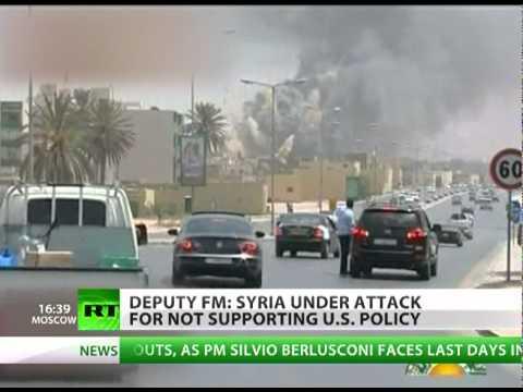 'Gaddafi couldn't kill more people than NATO did' - Syrian deputy FM