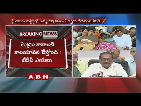 TDP leaders Unhappy with Union minister Birender Singh Meet over Kadapa steel Plant