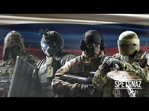 Новый трейлер Tom Clancy's Rainbow Six: Siege - Русский спецназ