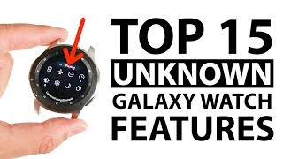 Top 15 Unknown Samsung Galaxy Watch Features!