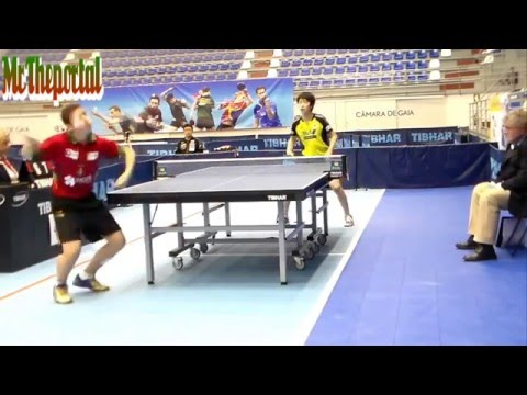 Table Tennis Portugal Youth Open 2016 - Vitor Amorim Vs Koyo Kanamitsu -