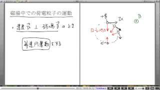 高校物理解説講義:「ローレンツ力」講義6
