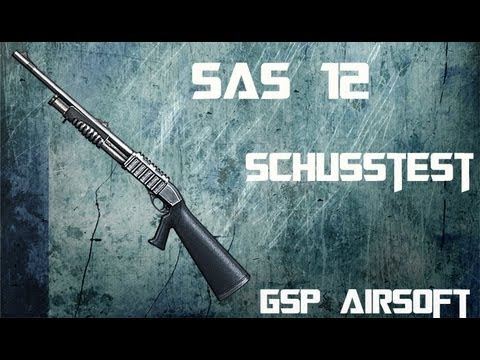 Franchi SAS 12 Softair Schusstest (GsP Airsoft) GERMAN HD