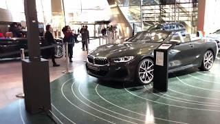 BMW 8シリーズ・コンバーチブルをBMW Weltで見てきた BMW 8 series convertibe