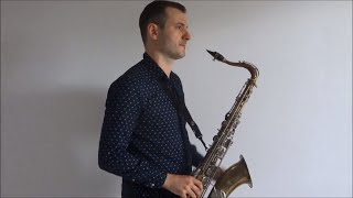 Download Lagu Dua Lipa - New Rules [Saxophone Cover] by Juozas Kuraitis Gratis STAFABAND
