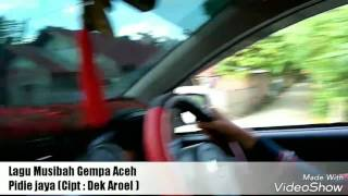 Lagu Dek Aroel Musibah Gempa Aceh Pidie Jaya