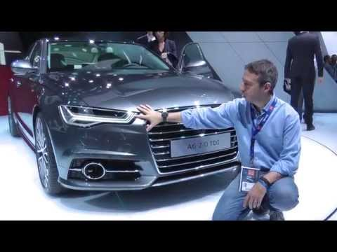 Audi A6 2014 e stand. Salone di Parigi 2014. HDmotori.it