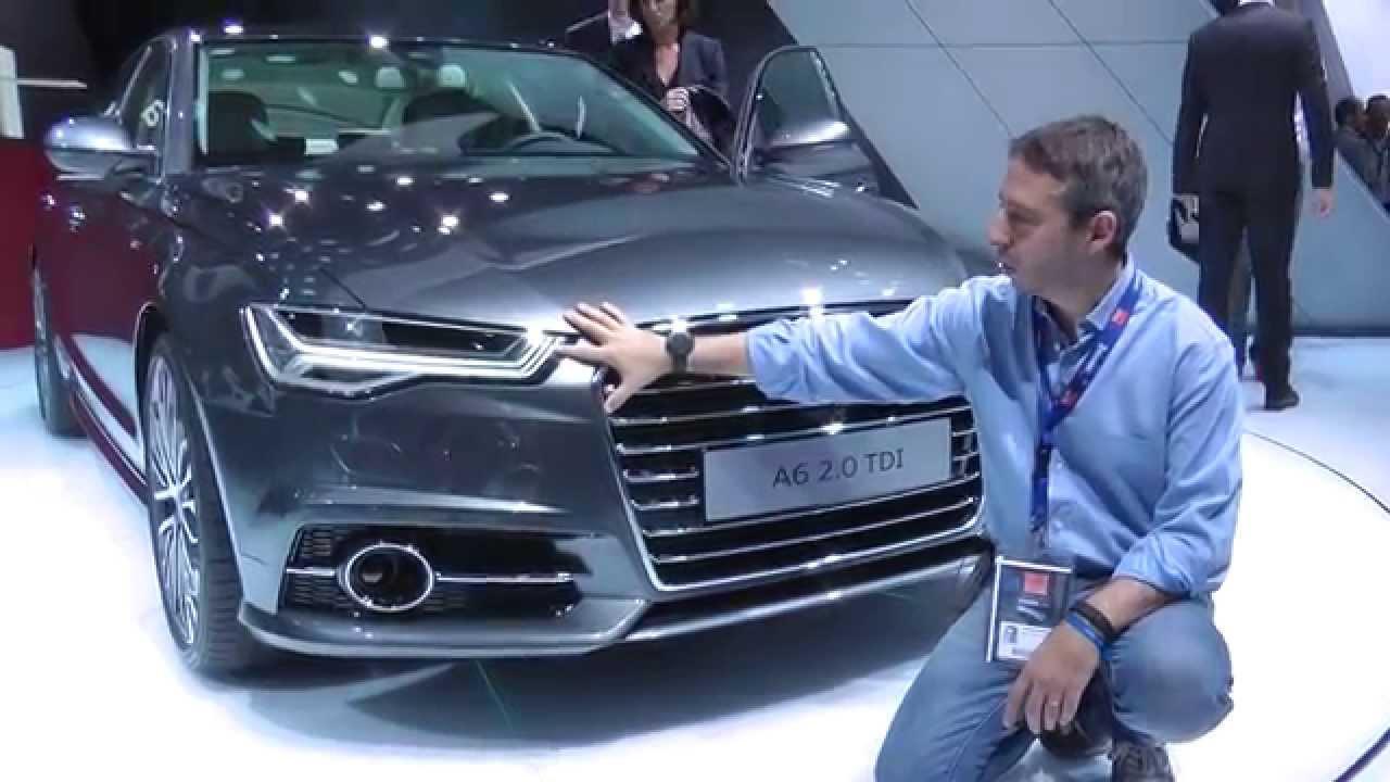 Audi a6 2014 e stand salone di parigi 2014 for 500x hdmotori