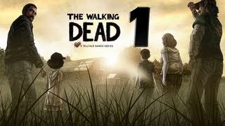 The Walking Dead Walkthrough Episode 01 A New Day Part 01- HD