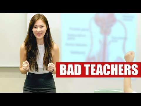 12 TEACHERS YOU'LL NEVER WANT TO MEET