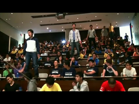 The Worst Test - I'm an engineering failure - flash mob