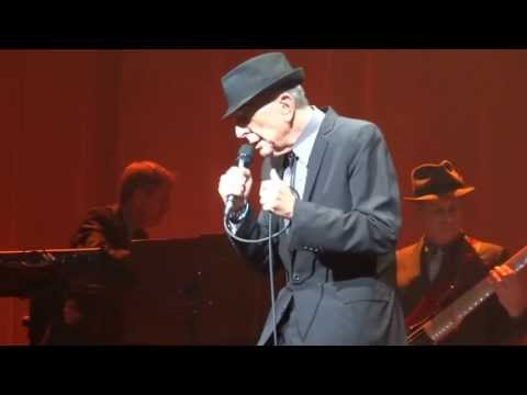Leonard Cohen, So Long Marianne - Oakdale Theatre, Wallingford, CT 4.2.2013