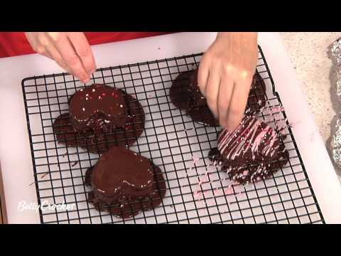 How To Make Heart Shaped Chocolate Brownies with Betty Crocker