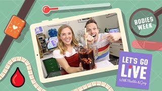 Germs, Blood & Keeping Healthy | Brilliant Bodies Week | #09 LET'S GO LIVE with Maddie & Greg