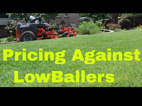 How to Price Lawn Care Services Against Lowballers