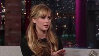 Jennifer Lawresnce David Lettermen 2012