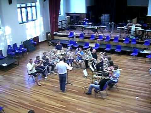 featuring Alan Morrison (Soprano Cornet), James Whitaker (Solo Cornet), Jonathon Probert (Solo Cornet), Brian Taylor (2nd Cornet), Lindsey Abell (Flugal Horn...