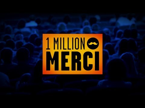 Golden Moustache - 1 Million d'Abonnés !