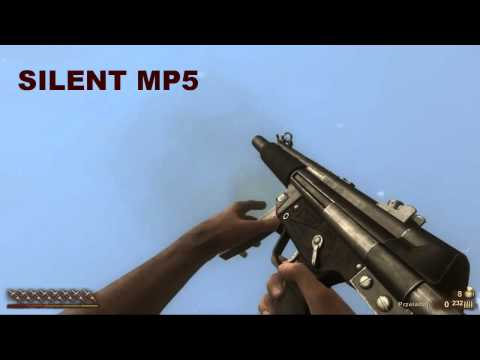 Far Cry 2 All Weapons In Slow Motion  HD , DX 10 , ULTRA DETAILS