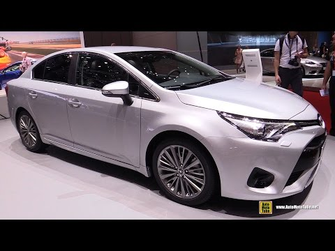 2016 Toyota Avensis Diesel - Exterior and Interior Walkaround - 2015 Geneva Motor Show