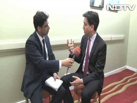 I don't care about my image: Ed Miliband to NDTV
