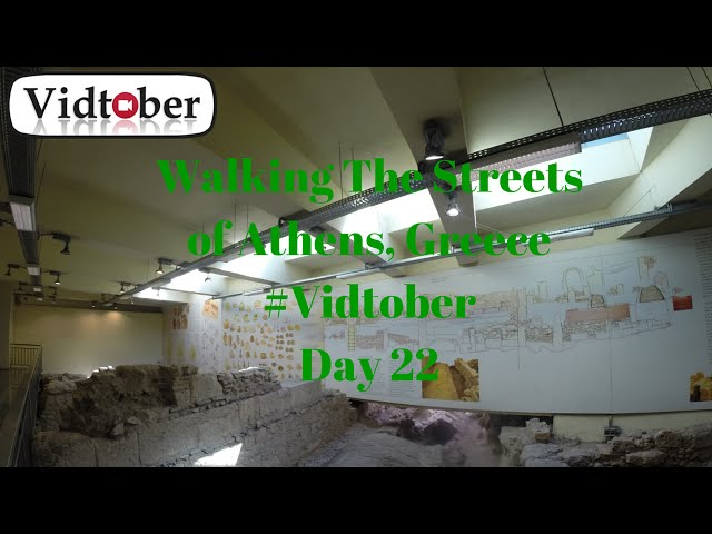 Video #22 of #Vidtober 22 October 2014. Walking The Streets of Athens near Monastiraki station