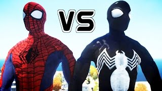 ULTIMATE SPIDER-MAN VS SYMBIOTE SPIDERMAN