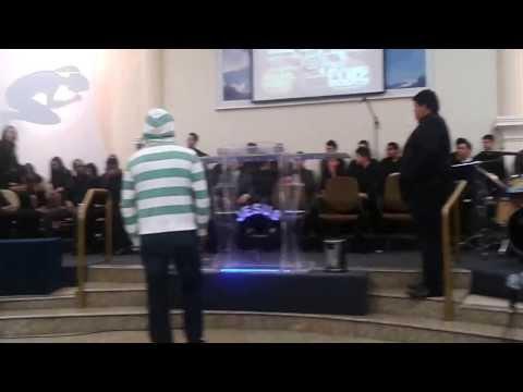TEATRO GOSPEL Desafio A Bíblia em 5 minutos CONGRESSO Adolescentes