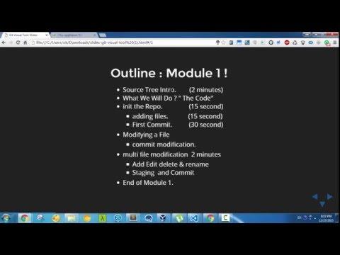 مقدمة في استخدام GIT  من خلال برنامج Source Tree الجزء  الأول