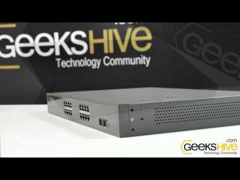 Switch Web Smart TP-Link TL-SG2216WEB - review by www.geekshive.com (espańol)