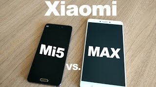 Xiaomi MAX vs. Xiaomi Mi5 - First look & Performance test