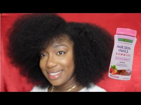 GROW YOUR NATURAL HAIR FAST with Nature's Bounty Hair. Skin. Nails Gummies Update 2