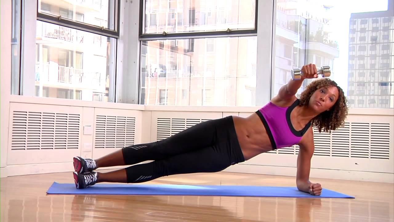 Bowflex dumbbell workout video
