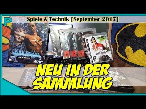 NEU IN DER SAMMLUNG [Spiele & Technik | September 2017] || ProNoob2K