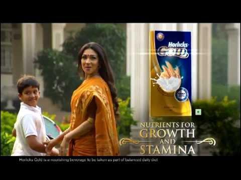 New Horlicks Gold bengali TVC Rituparna Sengu...