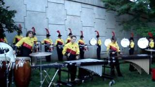 Grenadiers Drumline Lot Video - Rochester, NY July 4 2009