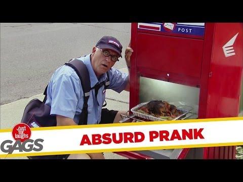 Absurd Mailman Chef Prank