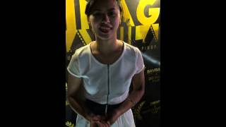Dionne Monsanto Talks About The Film Swap for Sinag Maynila 2015