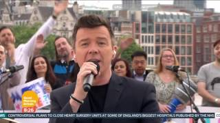 [HD] Rick Rick Astley Performs on Good Morning Britain | Angels On My Side