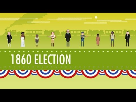 The Election of 1860 & the Road to Disunion: Crash Course US...