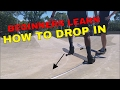 BEGINNERS LEARN HOW TO DROP IN FOR THE FIRST TIME | BEGINNERS SKATE