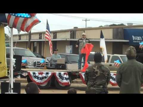 Shane Dyson 2nd Amendment Rally Farmerville, LA - medium video