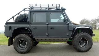 I Drive James Bonds Land Rover Spectre Defender