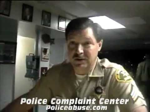I will make up a charge and arrest you. Los Angeles County Sheriffs