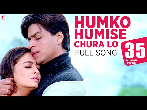 Humko Humise Chura Lo - Song - Mohabbatein video