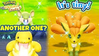 SHINY VULPIX! & SHINY DUPLICATE REACTIONS! - Pokémon: Let's Go, Pikachu! and Let's Go, Eevee!